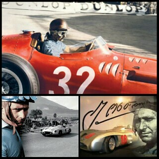 Juan Manuel Fangio di nobatkan sang maestro