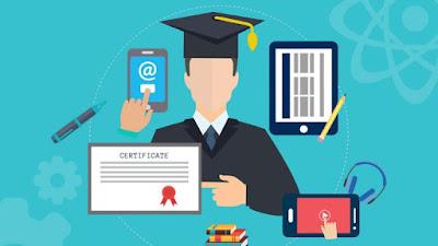 Social media, education on internet