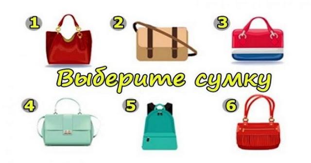 Узнай все о своей женской натуре — выбери сумку!