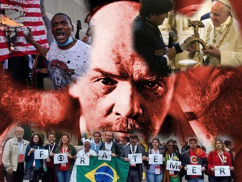 Espírito de Lenine continuou sendo transmitido no Ocidente e hoje atiça inversão de valores.