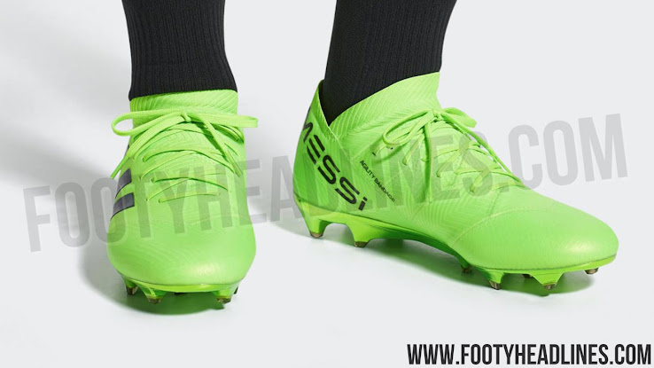 75dd7b8336e4cb ... Messi 18 football boots were released in May 2018. +1. Do you like the  colors chosen by Adidas ...