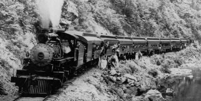 El ferrocarril como medio de transporte en economia