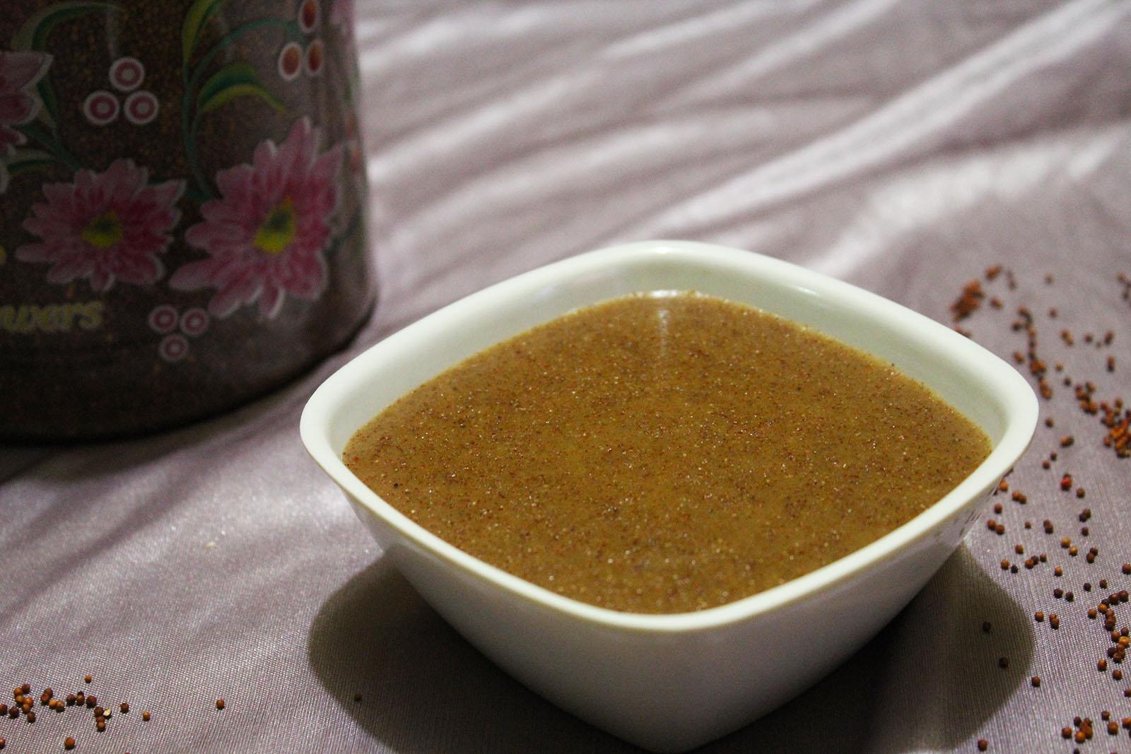 Healthy Ragi Malt Recipe ~ Cookery Atlas