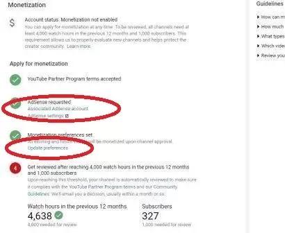 Youtube Adsense 3