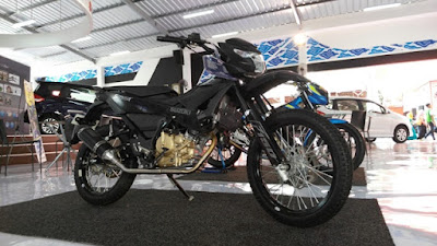 Modifikasi trail SUZUKI