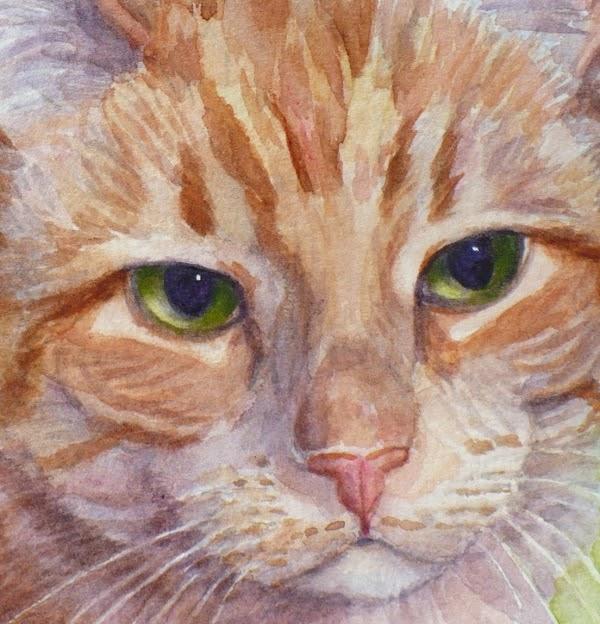 Zeh Original Art Blog Watercolor And Oil Paintings: Orange