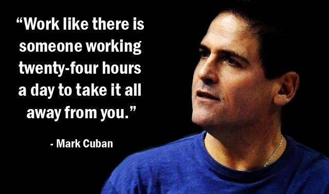 Mark Cuban Business Quotes Frugal Lean Startup Advice Entrepreneur Shark Tank