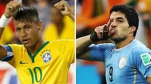 Brasil vs Uruguay en Eliminatorias Sudamericanas Mundial Rusia 2018