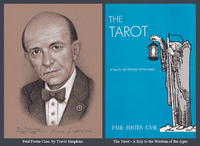 Paul Foster Case. Builders of the Adytum. B.O.T.A. The Tarot. by Travis Simpkins