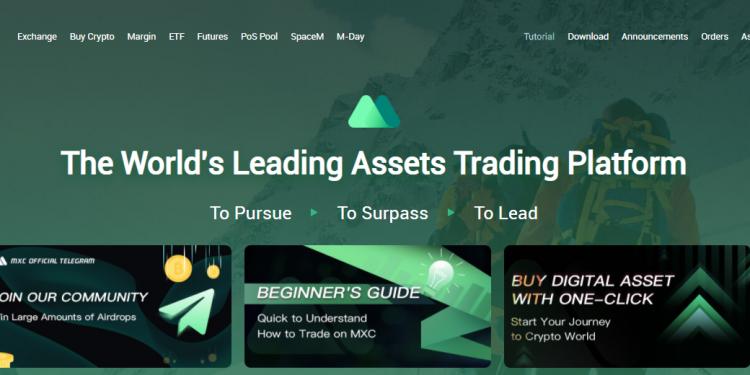 Review MXC Exchange - Mua bán TWT [TrustWallet Token] trên sàn MXC