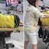Mister na Lasing, Itinali ng Kanyang Misis sa likod ng Motor na Para Bang Isang 'Package'