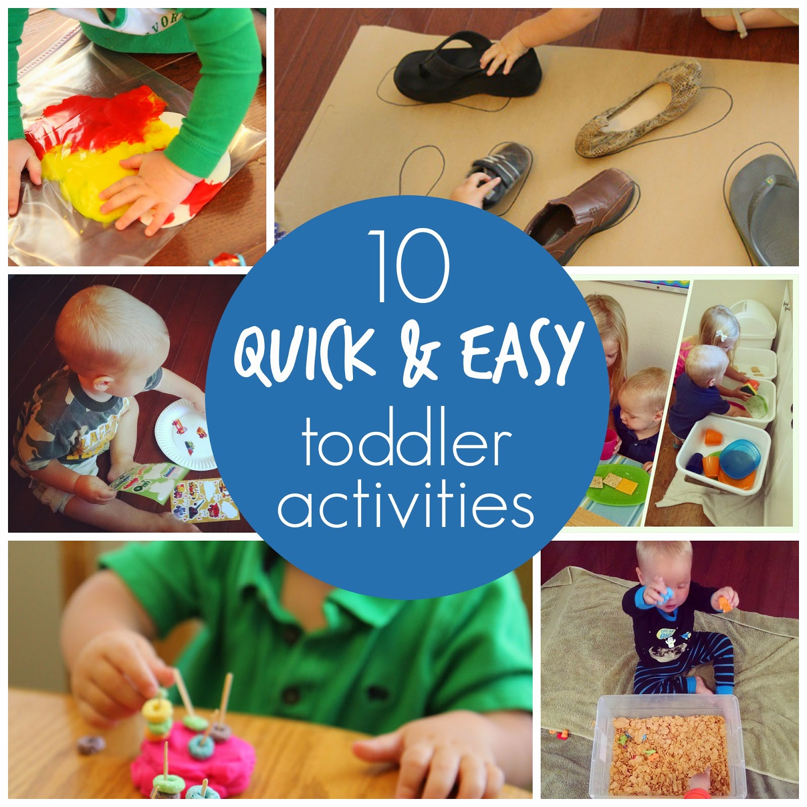 Toddler Approved!: 10 Days Of Simple Toddler Activities