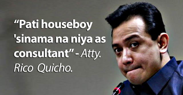 Trillanes' legit consultants are houseboy and drivers? Lawyer exposes alleged abuse of office