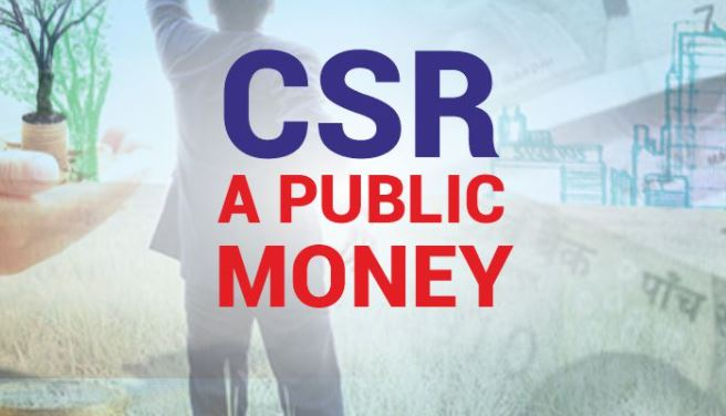 Breach in the security of the country with CSR money
