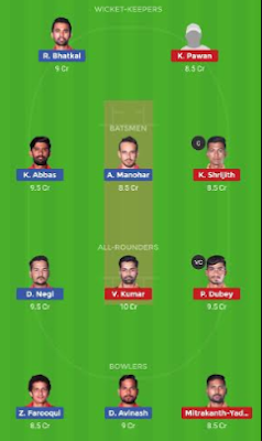 BP vs HT dream 11 team | HT vs BP