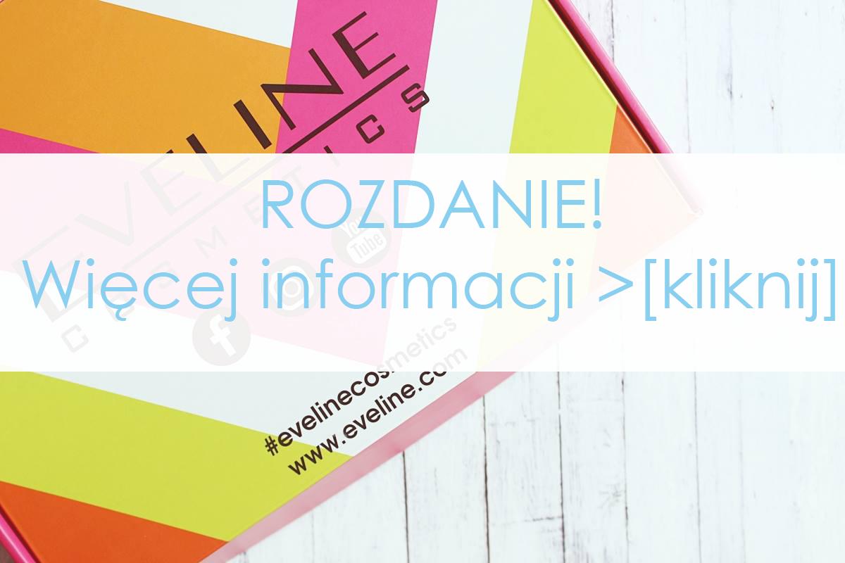 rozdanie konkurs eveline kosmetyki cosmetics