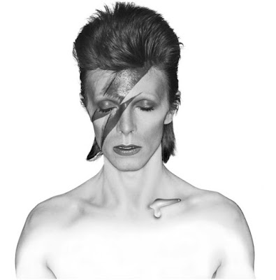 Aladdin Sane black white