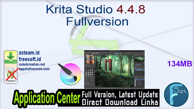 Krita Studio 4.4.8 Fullversion