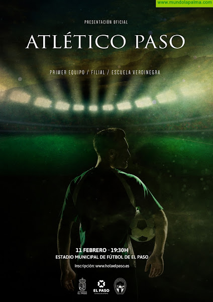 La marca 'Hola El Paso' se expone al Archipiélago Canario a través del auge promocional del C.D. Atlético Paso