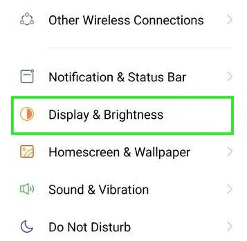 How to reduce the refresh rate of Realme X7 5G?