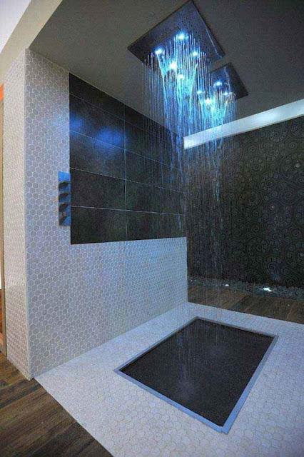doorless walk in shower ideas