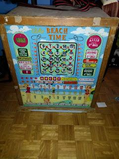 Bally Beach Time Bingo