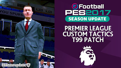 PES 2017 T99 Patch Custom Tactics by PESNewupdate