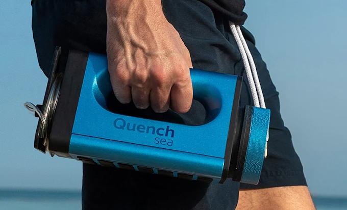 QuenchSea, dispositivo de bajo costo que convierte el agua de mar en agua potable