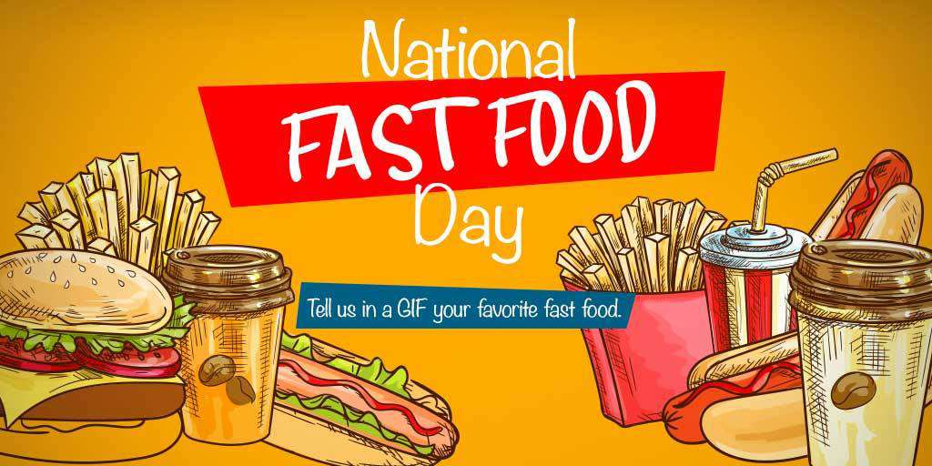 National Fast Food Day Wishes Images download