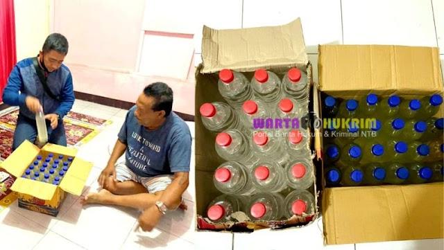 Sisir Praktek Prostitusi dan Penyakit Sosial, Polisi Amankan 39 Botol Miras