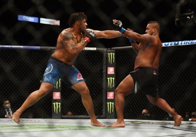 Greg Hardy and Yorgan De Castro UFC 249