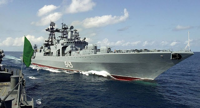 #Provocation : #Russia,#Iran and #China have begun a joint naval exercise in the northern Indian Ocean and the Gulf of Oman