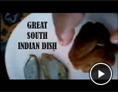 Text Great South Indian Dish