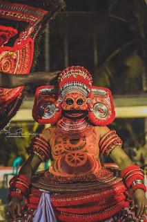 Urpazhassi Theyyam Photo