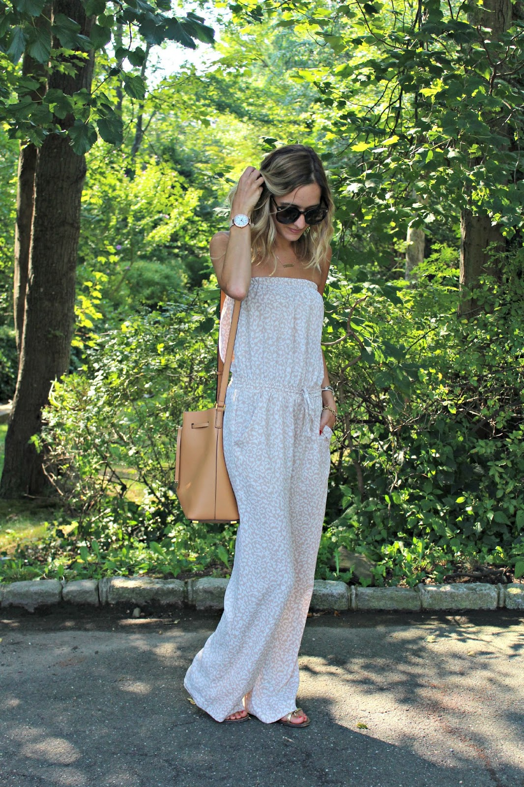 neutral summer jumpsuit