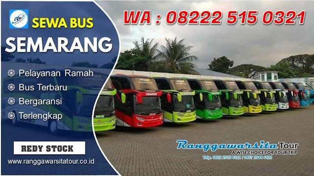 Cari Tempat Sewa Bus Semarang, Berikut Info Lengkapnya