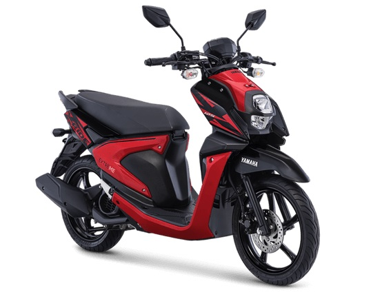 All New Yamaha X-Ride 125 Atractive Red