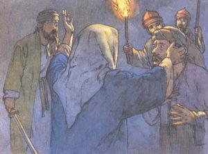 Gesù viene arrestato
