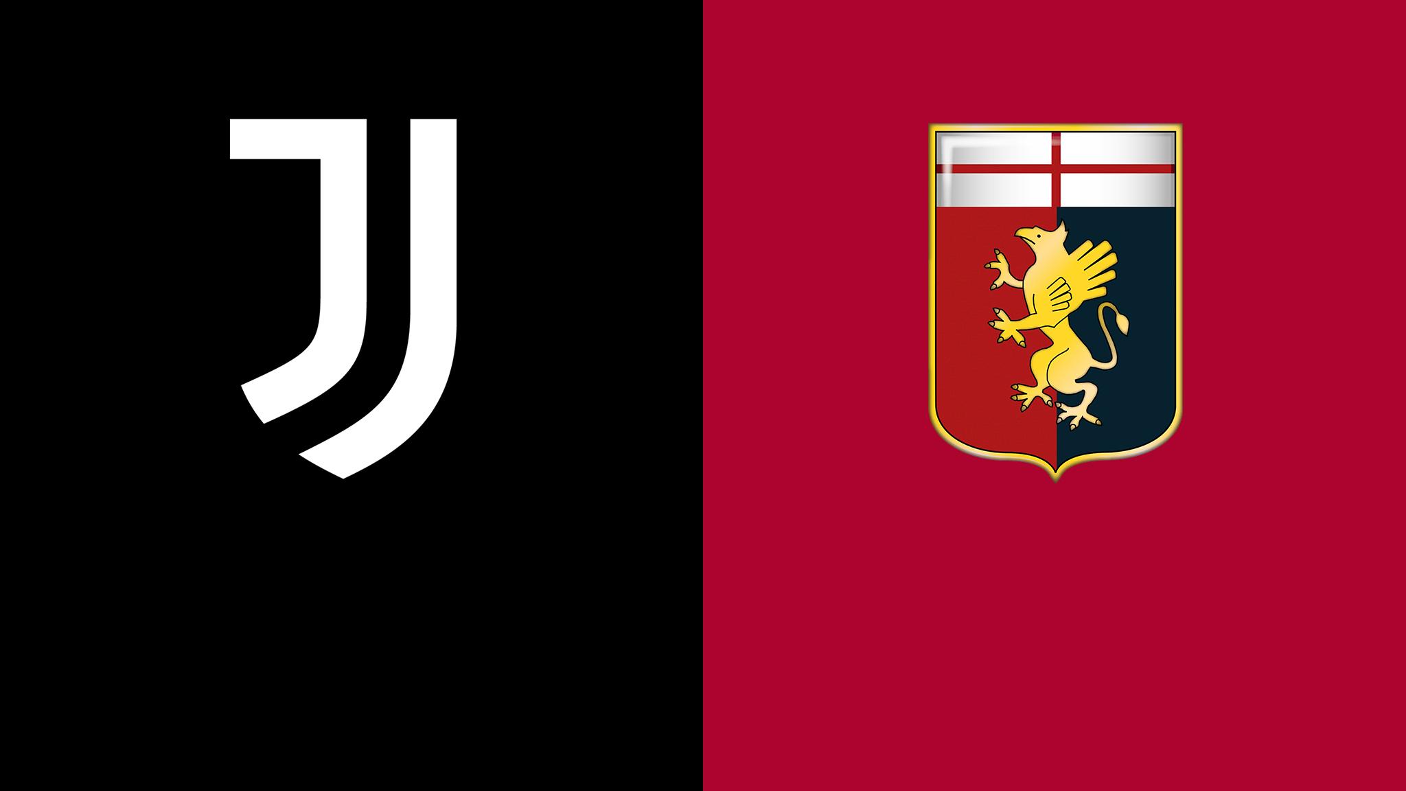 Juventus vs Genoa footem