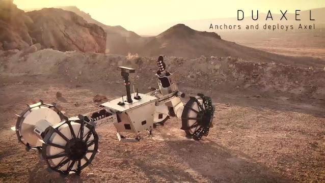novo rover transformer da nasa