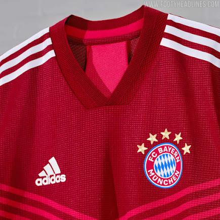 Bayern Munchen 21 22 Home Kit Released Footy Headlines