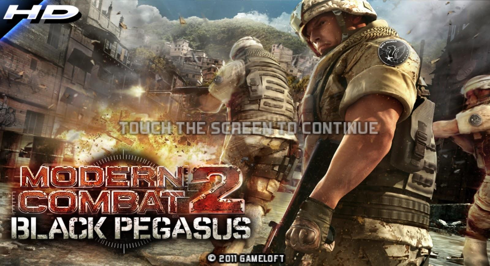 Modern Combat 2 Black Pegasus Apk Data Version 1 0 5 HD