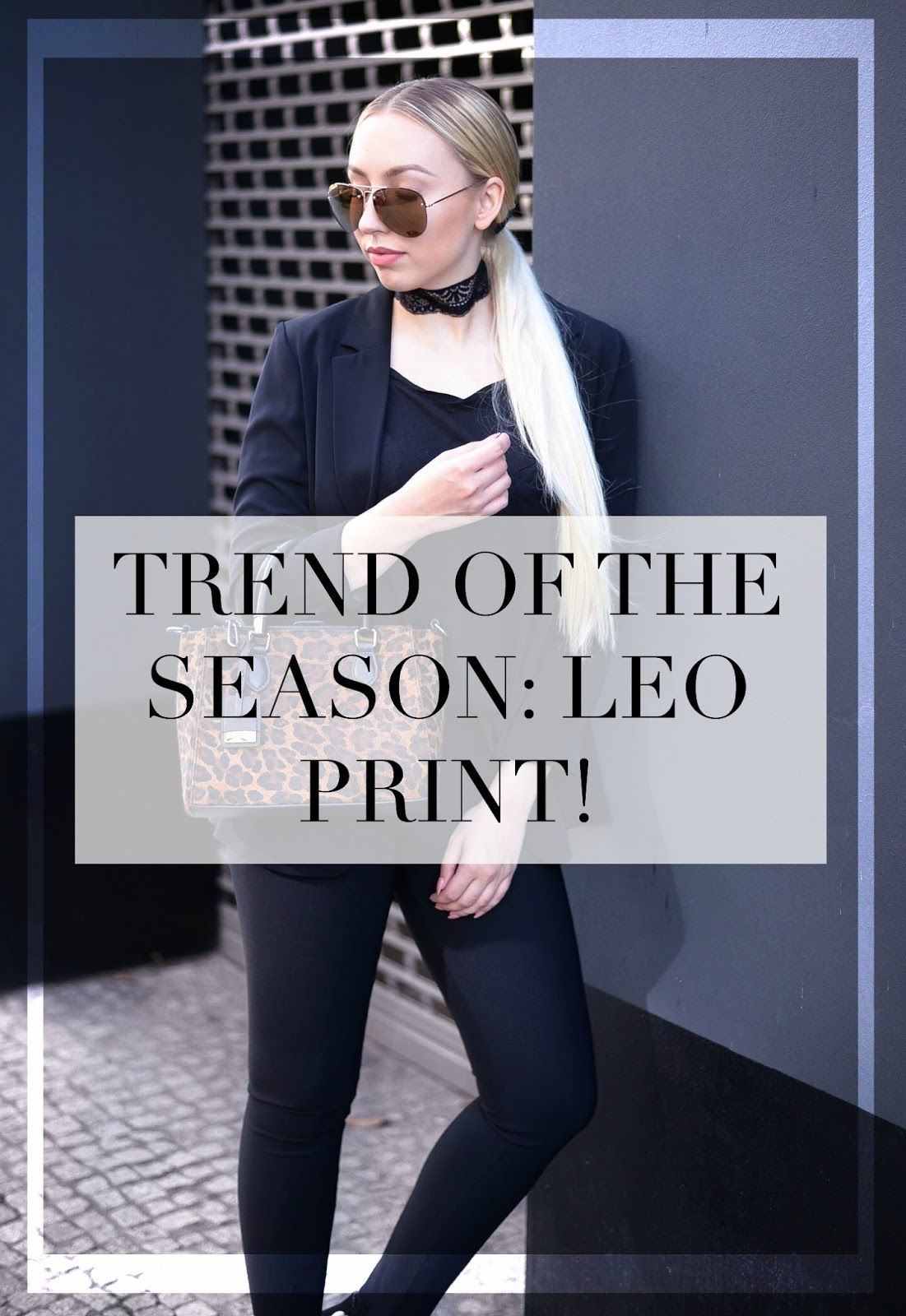 trend of the season: leo print