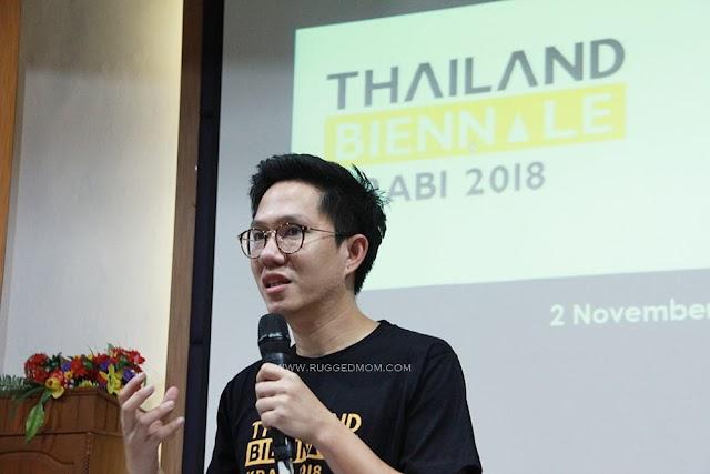 Bila artis antarabangsa meluah idea di Thailand Biennale Krabi 2018