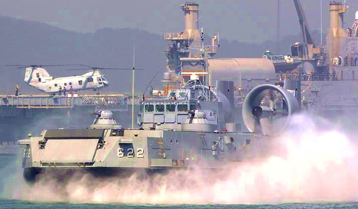 South Korea's flagship hovercraft