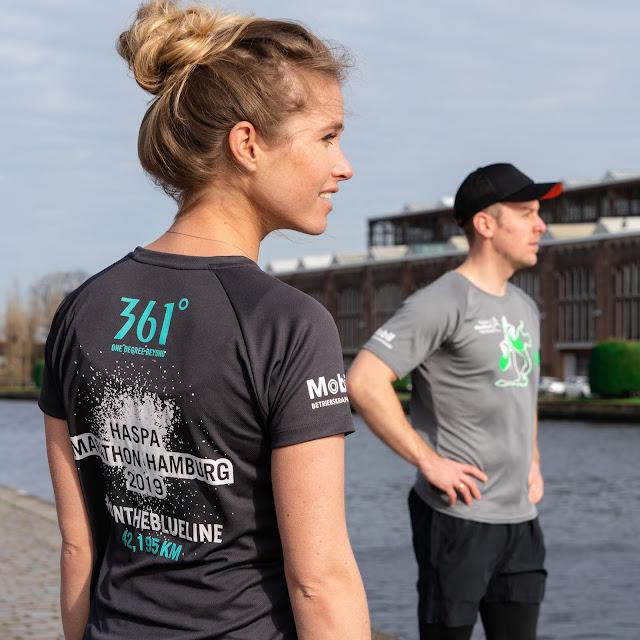361° HASPA Hamburg Marathon Finischer Shirts