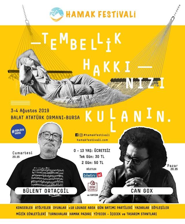 Dünyanın İlk ve Tek Hamak Festivali Türkiye'de