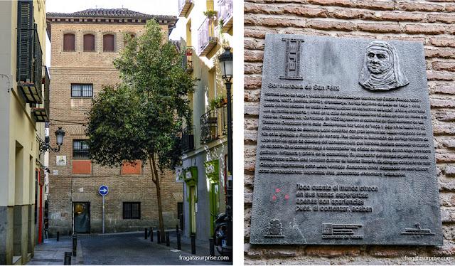 Convento das Trinitárias Descalças de San Ildefonso, Barrio de las Letras, Madri