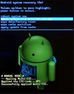 reset hp samsung dengan android system recovery