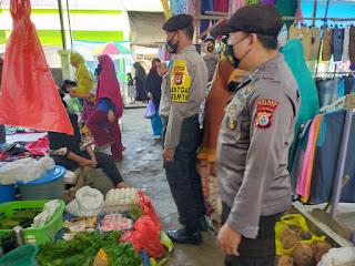 Kasat Sabhara Pimpin Operasi Yustisi Di Pasar Kabere, Ini Harapannya!!!